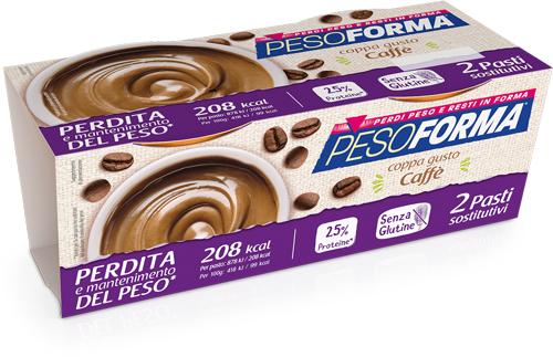PESOFORMA COPPA CAFFE' 2 X 210 G - La farmacia digitale