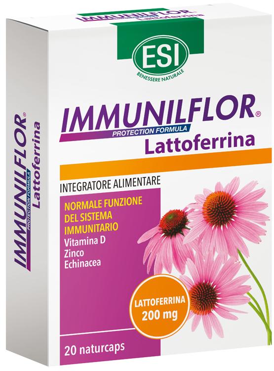 Esi Immuniflor Lattoferrina 20 Naturcaps - latuafarmaciaonline.it