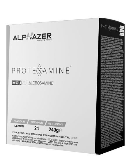 ALPHAZER PROTESAMINE LIMONE 24 BUSTINE - Farmacia Massaro