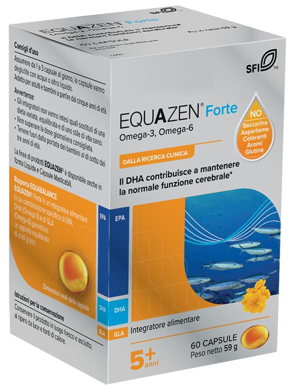 EQUAZEN FORTE 60 CAPSULE - Farmaseller