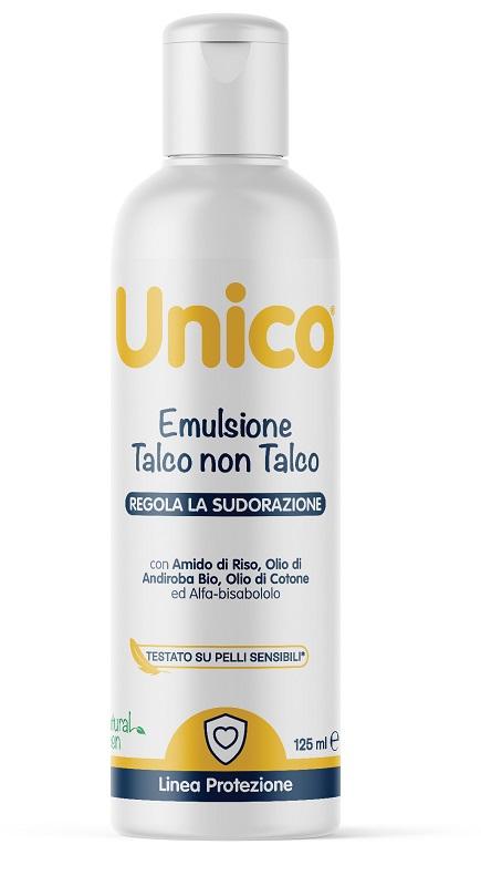 UNICO EMULSIONE TALCO NON TALCO 125 ML - Farmaseller