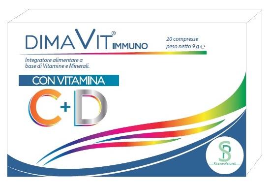 DIMAVIT IMMUNO 20 CAPSULE - Farmaseller