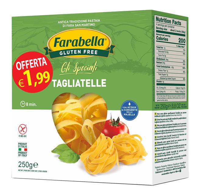 FARABELLA TAGLIATELLE 250G PROMO - Farmaseller