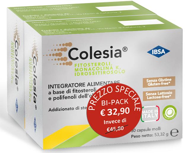 COLESIA 30 CAPSULE MOLLI BIPACK - Farmaci.me