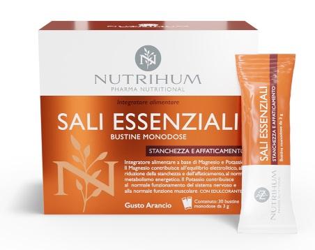 SALI ESSENZIALI NUTRIHUM 30 STICKPACK - Farmaseller