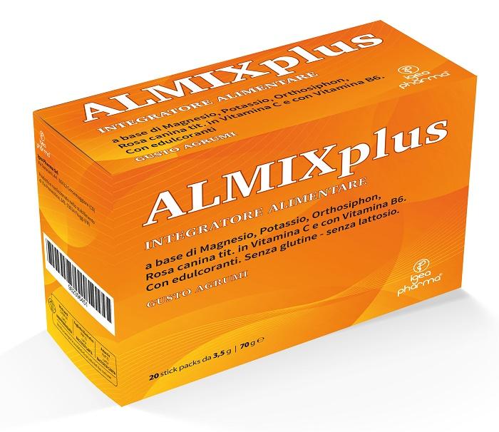 ALMIX PLUS 20 STICK PACK GUSTO AGRUMI - Farmaseller