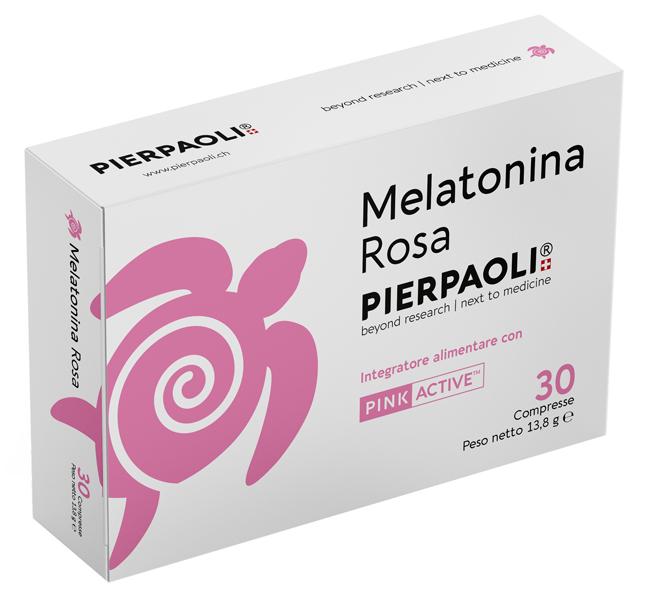 MELATONINA ROSA PIERPAOLI 30 COMPRESSE - Farmaseller