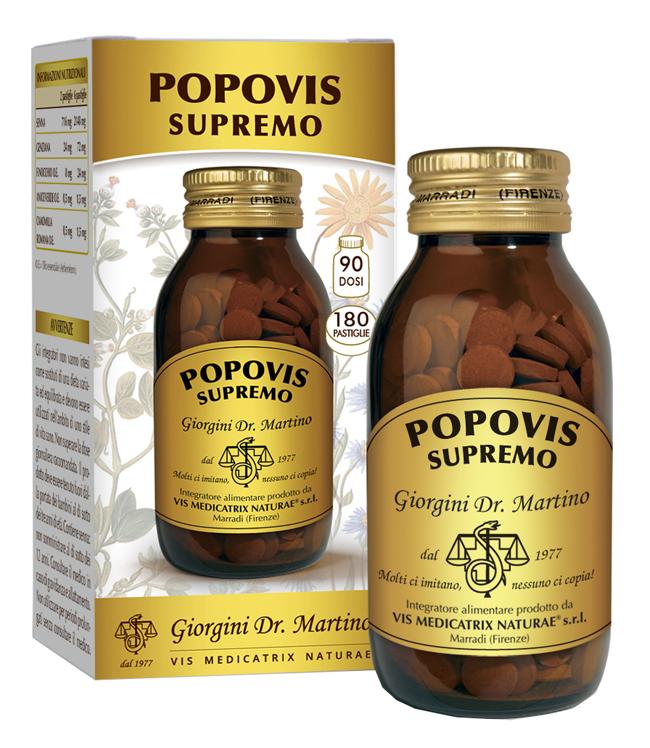 POPOVIS SUPREMO 180 PASTIGLIE - Farmaseller