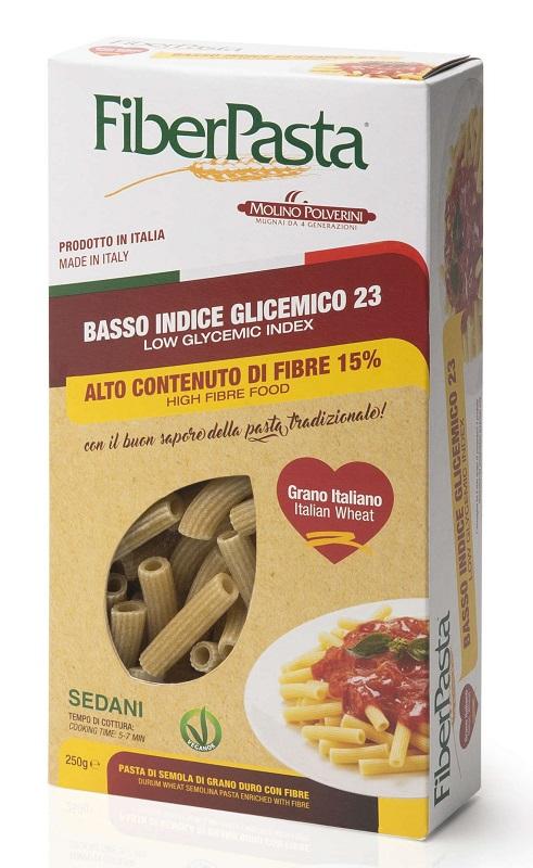 FIBERPASTA SEDANI BASSO INDICE GLICEMICO 250 G - Farmaseller
