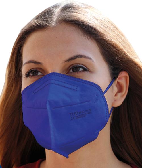 MASCHERINA THD FFP2 PRO BLUE 1 PEZZO - Farmacia della salute 360