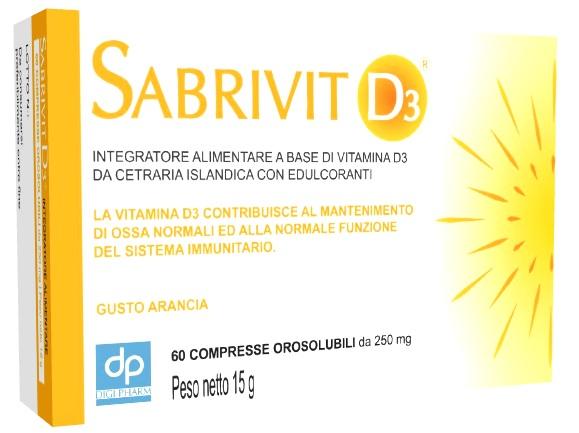 SABRIVIT D3 60 COMPRESSE - Farmaseller