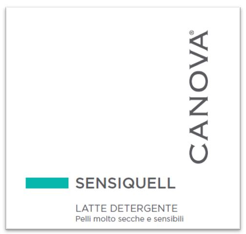 CANOVA SENSIQUELL LATTE DETERGENTE 250 ML - Farmaseller