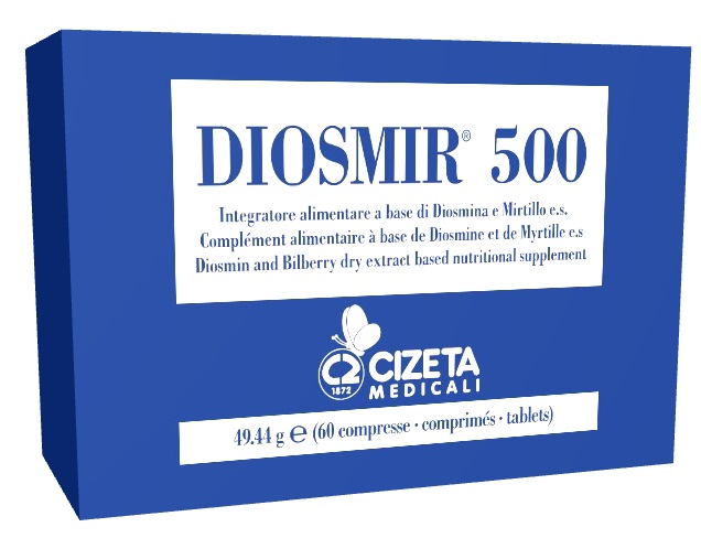 DIOSMIR 500 60 COMPRESSE - Farmaseller